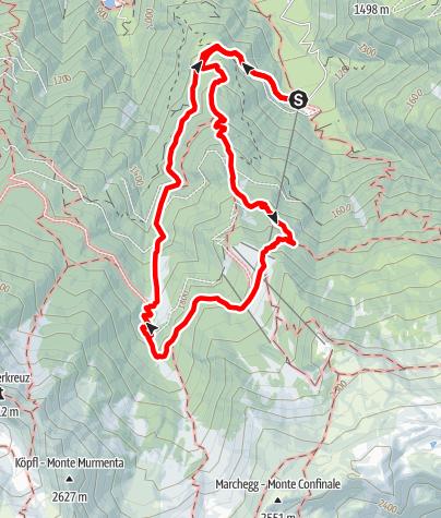 Karte / Nörderer Marend-Tour