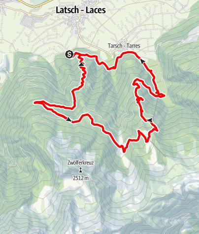 Karte / Almenrunde