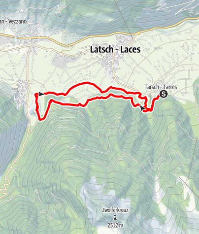 Karte / Ramini-Montani-Runde