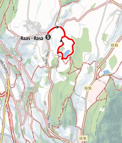 Karte / Naturerlebnisweg Raiermoos