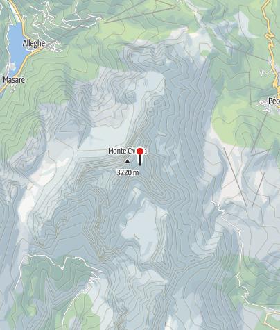 Karte / Rifugio Torrani