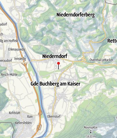 Karte / Restaurant Tschill, Waldschwimmbad Niederndorf