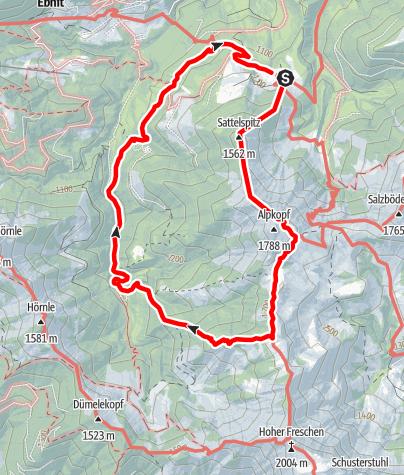 Karte / Tourenplanung am 11.09.2020 18:47:08