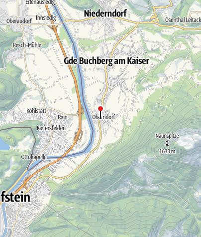 Karte / Wirtshaus Sattlerwirt