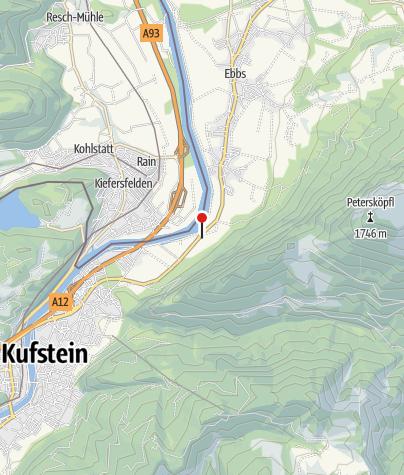 Karte / Wirtshaus zur Schanz
