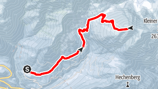 Karte / Großer Solstein (2541 m) von Hochzirl