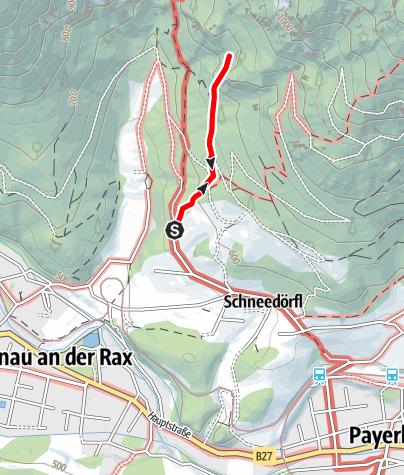 Karte / Kammerwandgrotte
