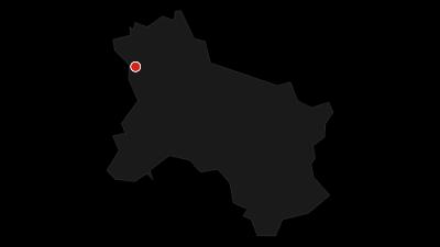 Karte / Hallein - St. Gilgen am Wolfgangsee