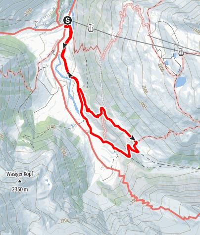 Karte / Naturschauweg Naßfeld