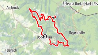 Karte / Bodenmais-Großer Arber und zurück