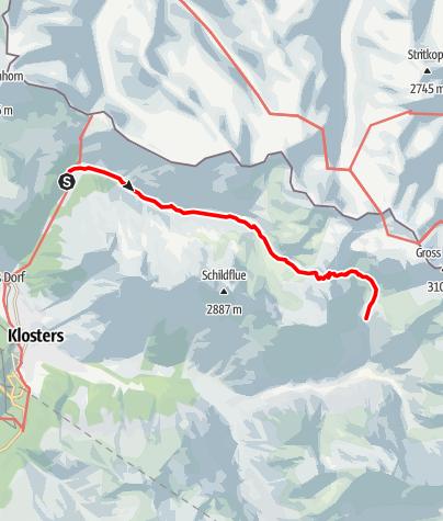 Karte / AS21 2Bergh.Erika- Seetalhütte