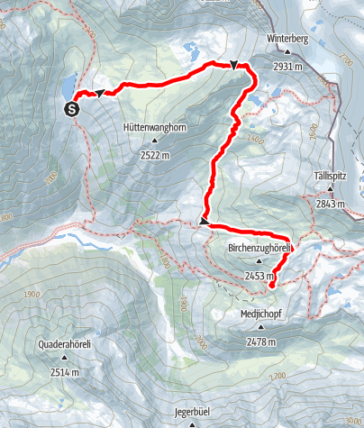 Karte / AS21 3Seetalh-Silvrettahütte