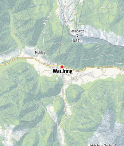 Karte / Erlebnis-Hotel Tiroler Adler - 3***Hotel