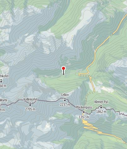 Karte / Gasthof Untere Valentinalm