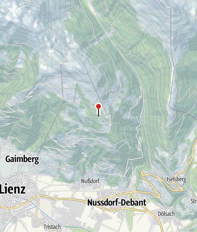 Karte / Moritzhütte