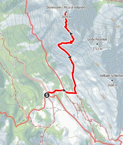Karte / Dürrenstein