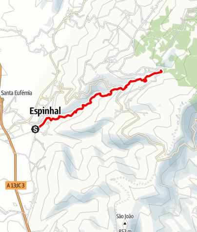 Karte / PR2 PNL- Da Pedra da Ferida à Louçainha
