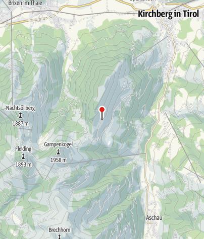 Karte / Sonnleitnerhütte (1532 m) - DAV Sektion München