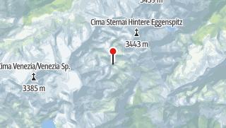 Karte / Rifugio Silvio Dorigoni