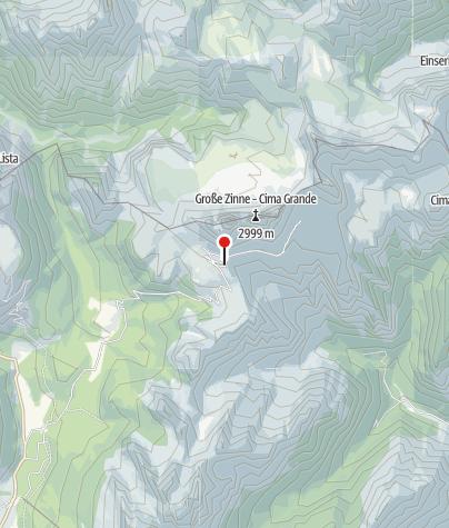 Karte / Rifugio Auronzo