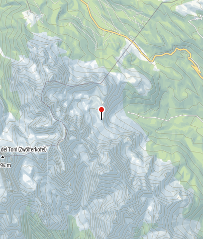 Karte / Rifugio Berti