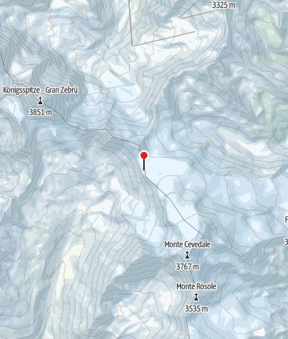 Karte / Rifugio Casati al Cevedale