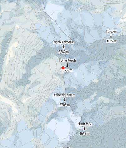 Karte / Bivacco Colombo
