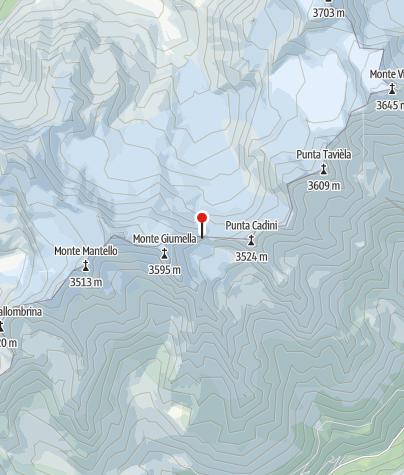 Karte / Bivacco Meneghello