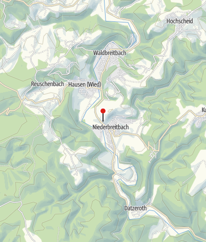 Karte / Parkplatz Niederbreitbach Am Friedhofsweg / Friedhof