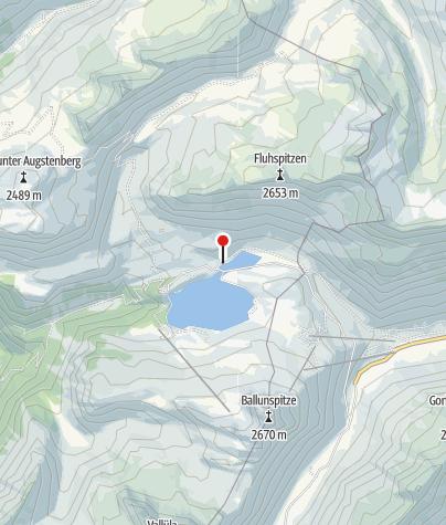 Karte / Alpengasthof Zeinisjoch
