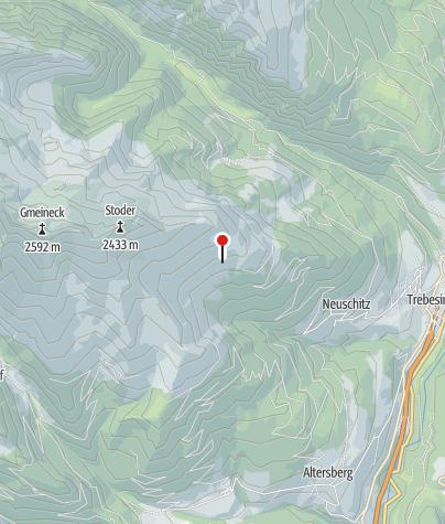 Karte / Bergfriedhütte