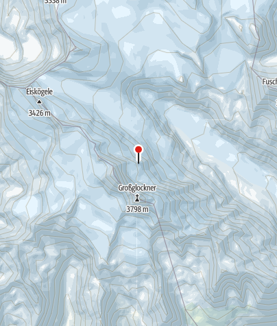 Karte / Glockner-Biwak