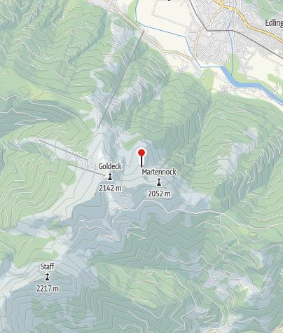 Karte / Goldeckhütte