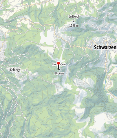 Map / Hochälpelehütte