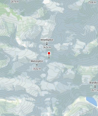Map / Kaunergrathütte
