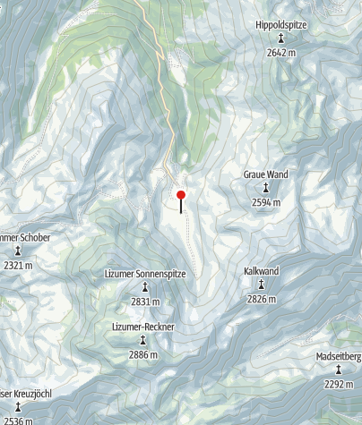Map / Lizumer Hütte