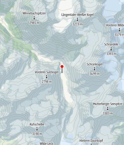 Karte / Amberger Hütte