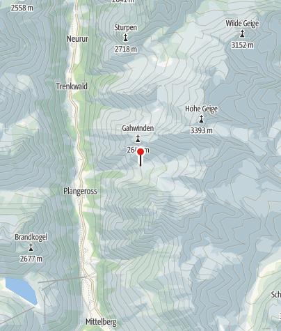 Map / Rüsselsheimer Hütte