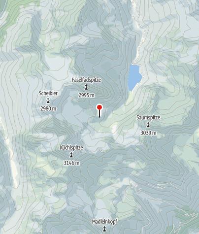 Karte / Darmstädter Hütte