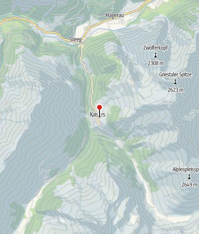 Karte / Edelweißhaus