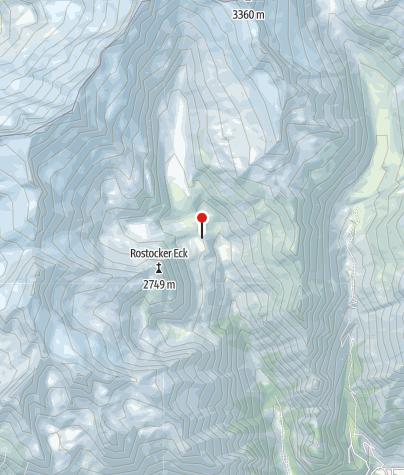 Map / Essener und Rostocker Hütte