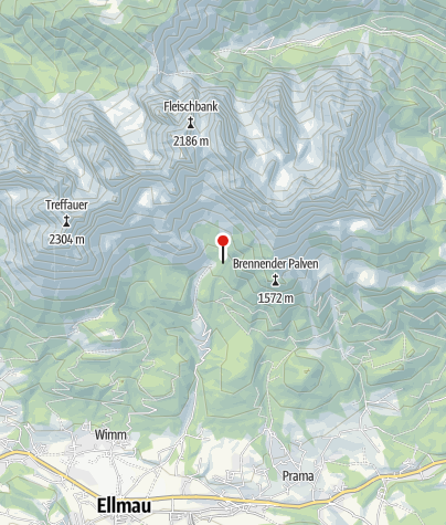 Map / Gaudeamushütte