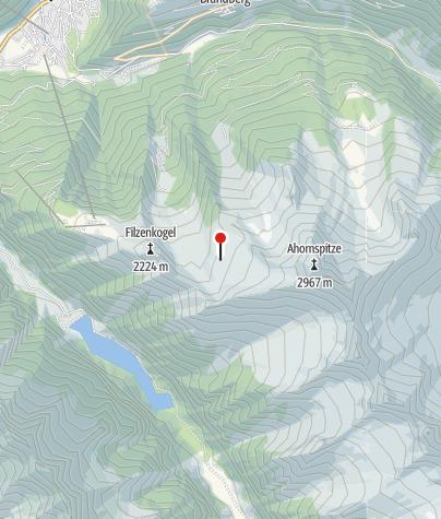 Karte / Karl-von-Edel-Hütte