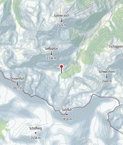 Map / Lindauer Hütte