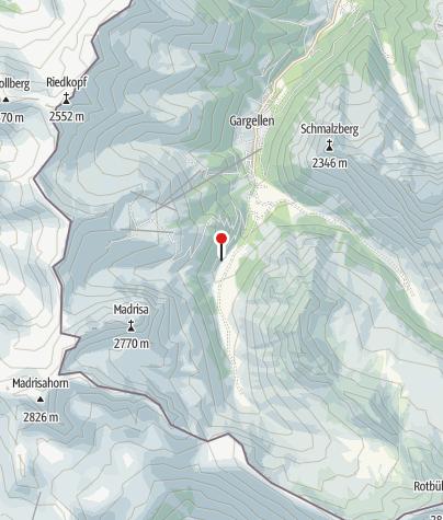 Karte / Madrisahütte