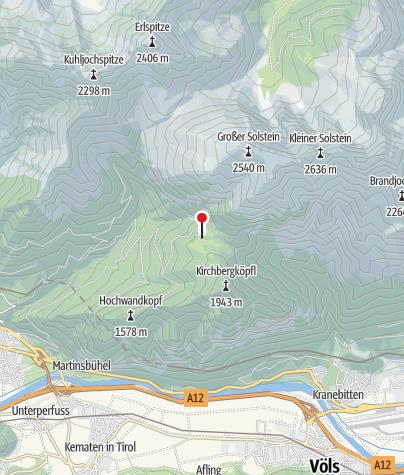 Karte / Neue Magdeburger Hütte