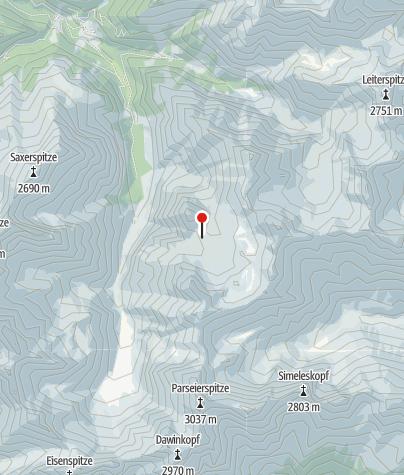Karte / Memminger Hütte