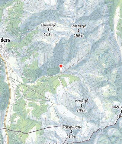 Karte / Nauderer Hütte