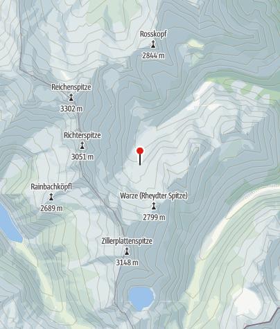 Karte / Richterhütte