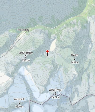 Karte / Sulzenauhütte